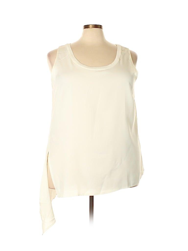 Lane Bryant Women Sleeveless Blouse Size 22 (Plus)