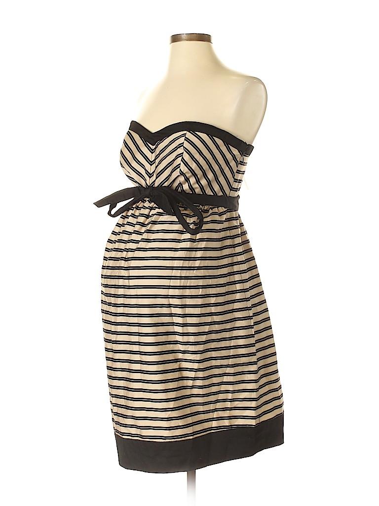 80810d75bae Motherhood Stripes Black Casual Dress Size S (Maternity) - 22% off ...