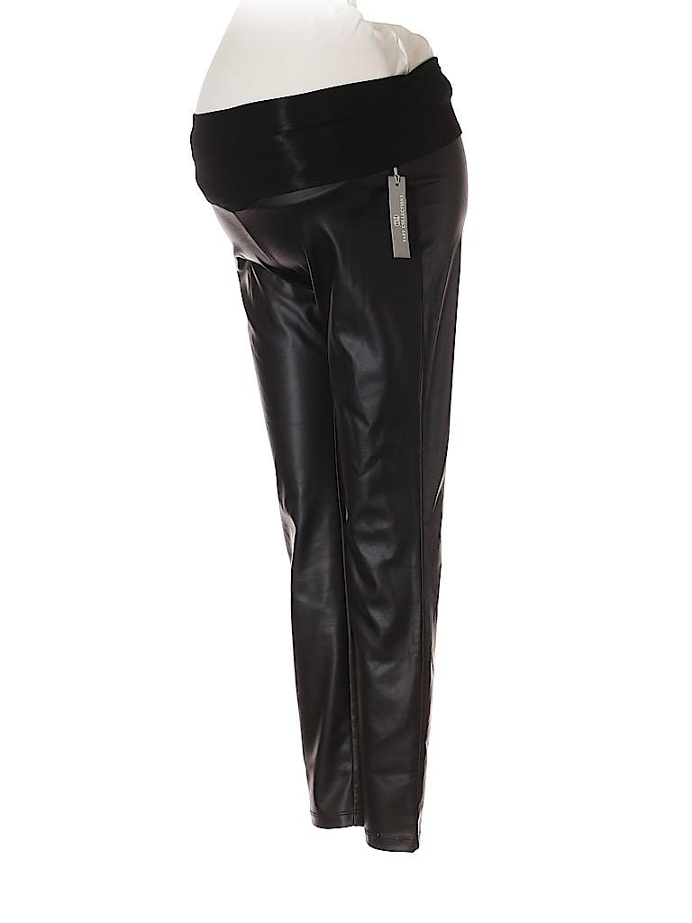 Tart Women Faux Leather Pants Size XS (Maternity)