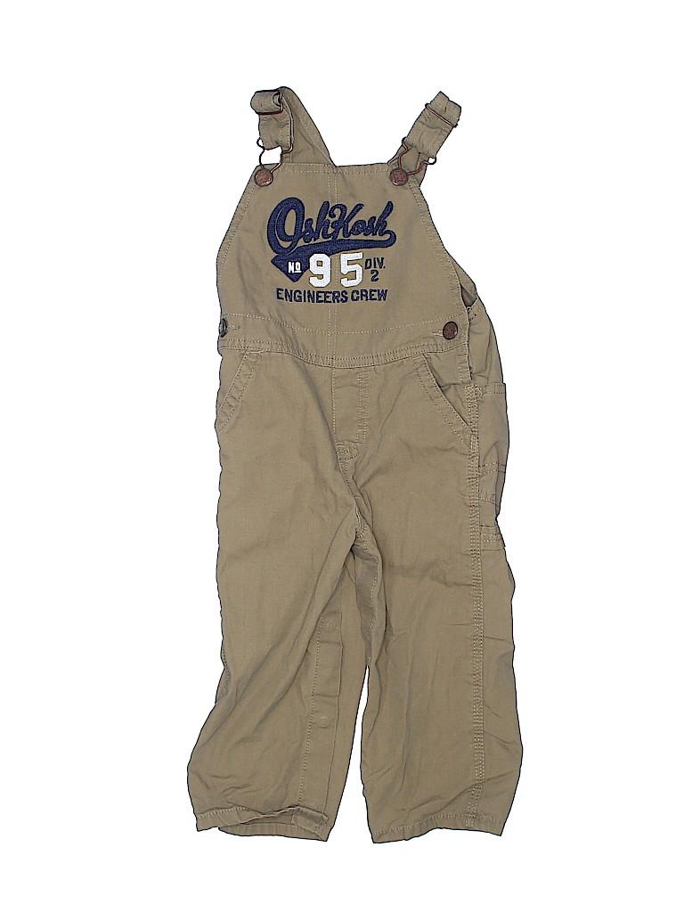 OshKosh B'gosh Boys Overalls Size 24 mo