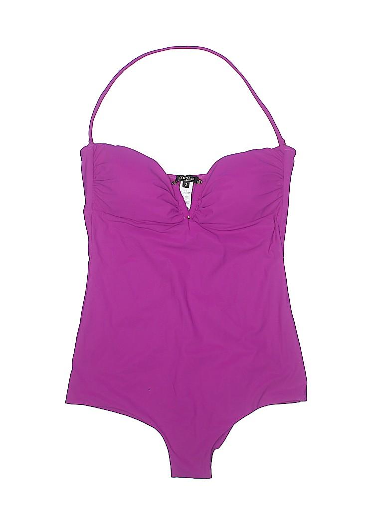 Versace Women One Piece Swimsuit Size Med (3)