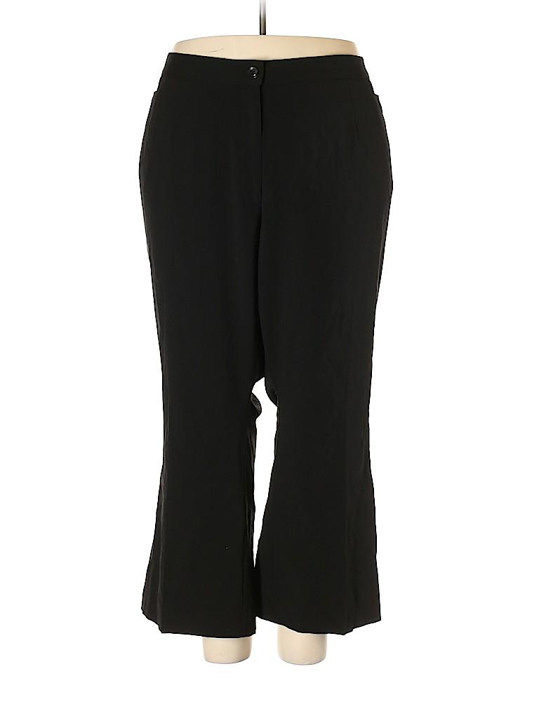 Catherines Women Dress Pants 34 Waist