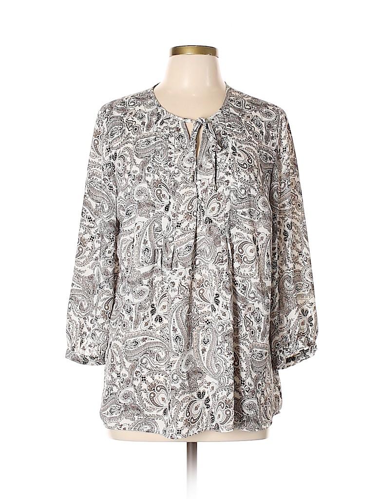 Lila Rose Women Long Sleeve Blouse Size L