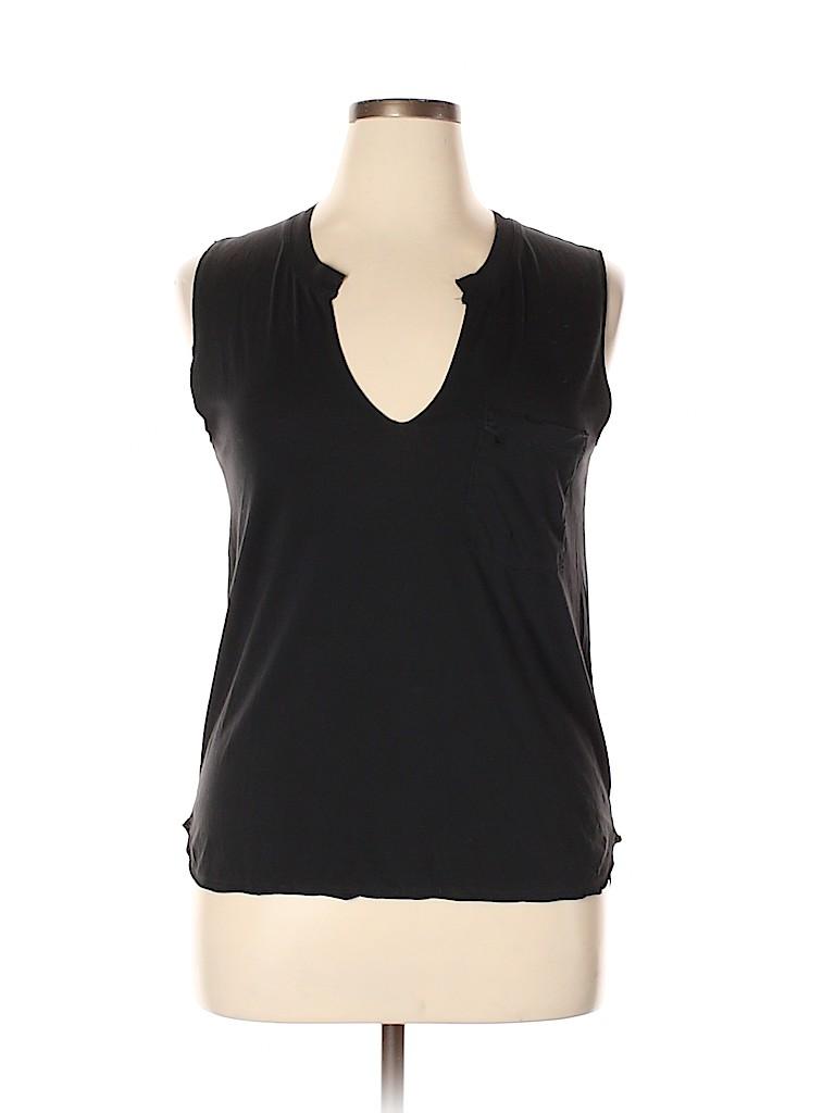 Madewell Women Sleeveless T-Shirt Size M