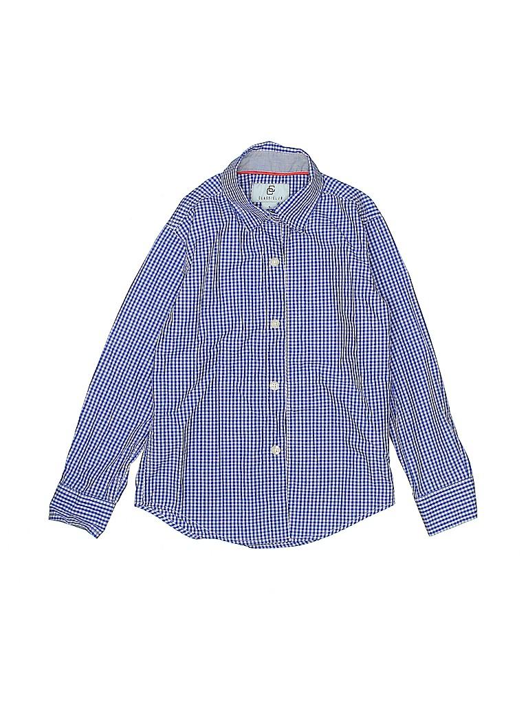 Class Club Boys Long Sleeve Button-Down Shirt Size 5
