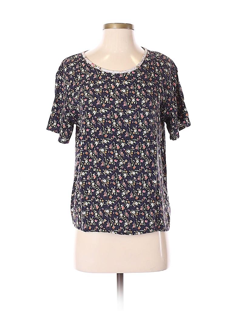 LACAUSA Women Short Sleeve Blouse Size XS