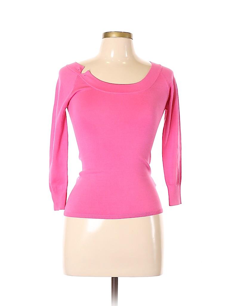 Class Roberto Cavalli Women Silk Pullover Sweater Size 8