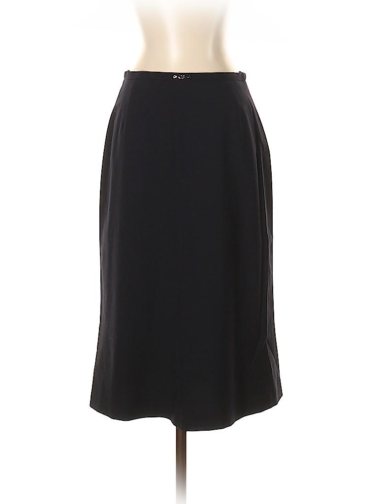 Escada Women Wool Skirt Size 36 (EU)
