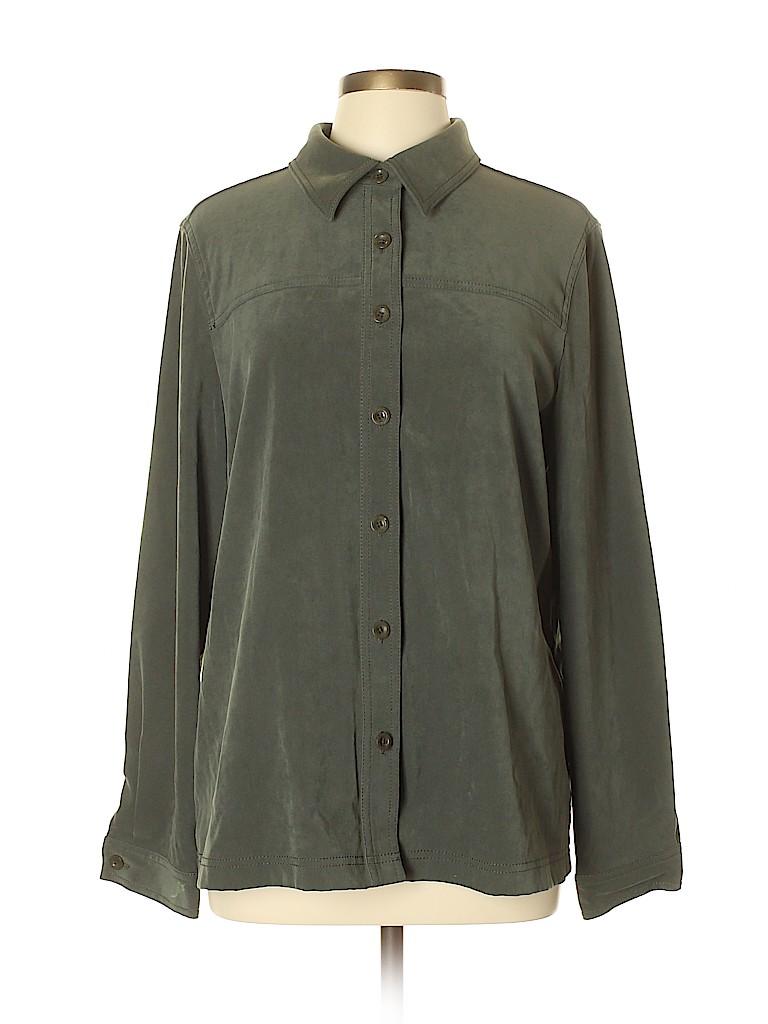 Casual Corner Annex Women Long Sleeve Blouse Size XL