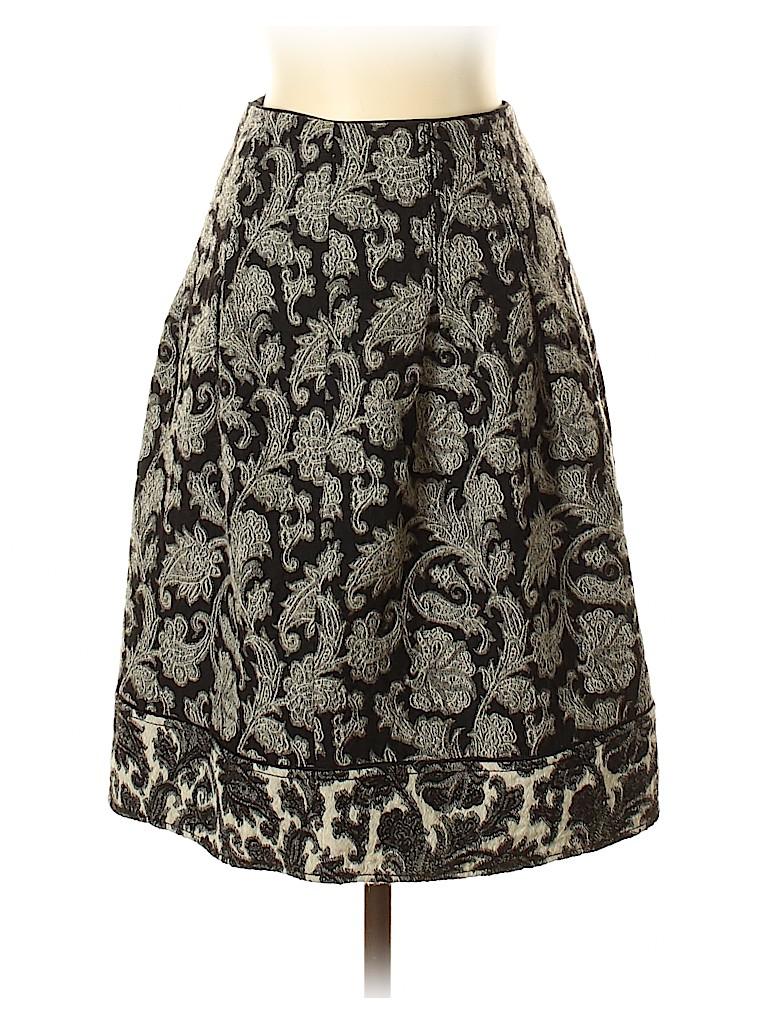 Badgley Mischka Women Wool Skirt Size 4