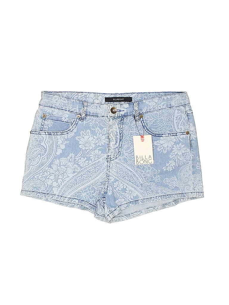 Billabong Women Denim Shorts 30 Waist