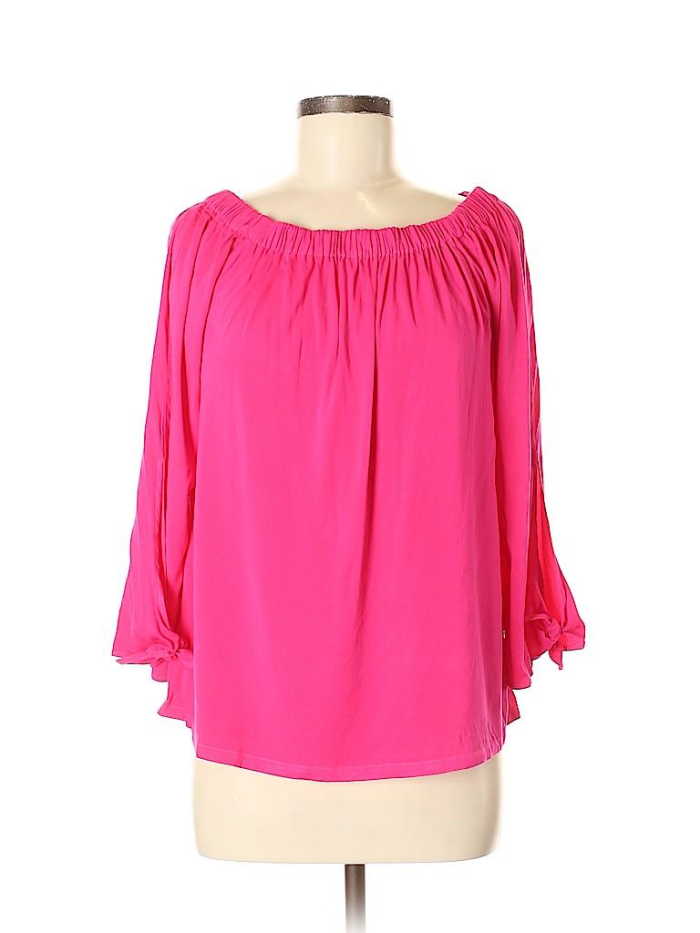 Michael Stars Women 3/4 Sleeve Blouse Size M