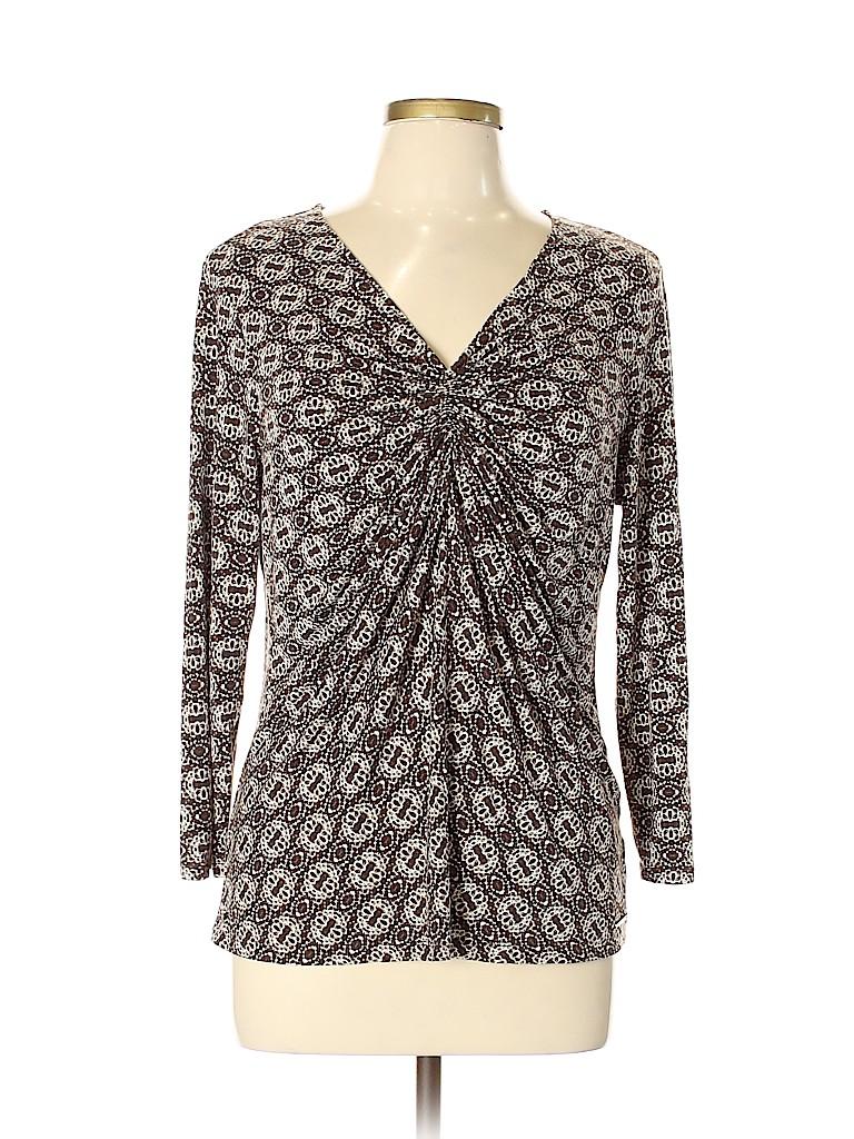 MICHAEL Michael Kors Women 3/4 Sleeve Top Size XL