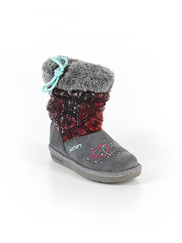 Skechers Girls Boots Size 9