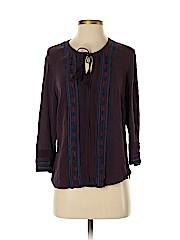 Veronica Beard 3/4 Sleeve Silk Top
