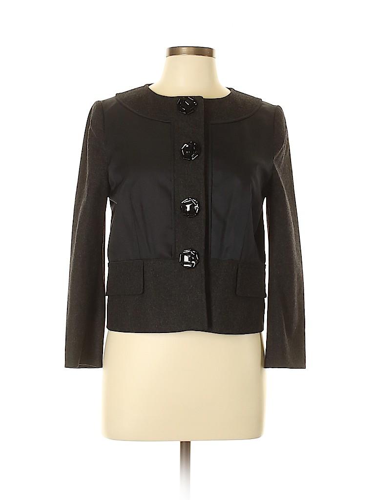 Proenza Schouler Women Wool Blazer Size 6