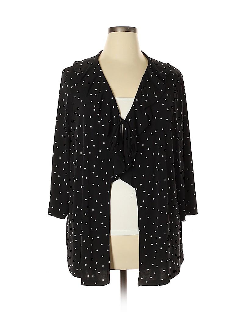 Susan Graver Women Cardigan Size XL