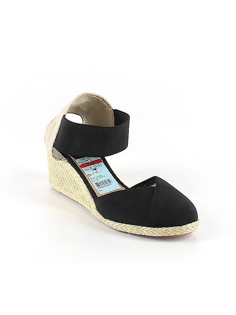 c63b7c1cc730 Lauren by Ralph Lauren Color Block Black Wedges Size 7 1 2 - 58% off ...