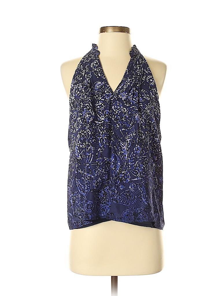 Greylin Women Sleeveless Silk Top Size XS