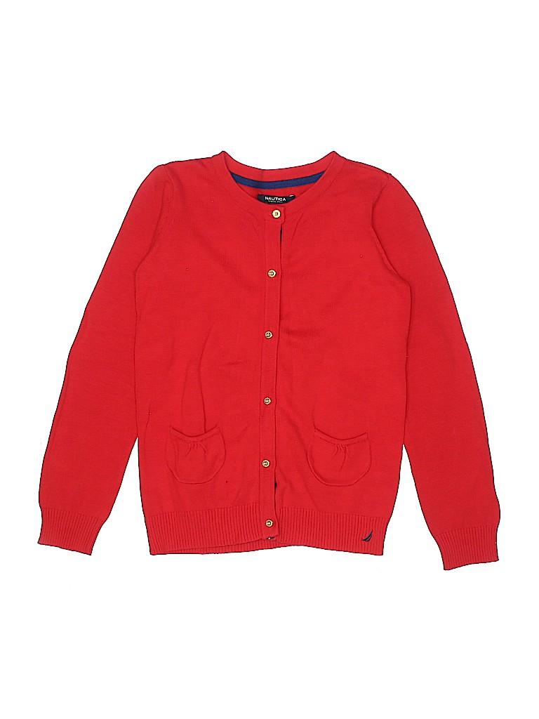 Nautica Girls Cardigan Size 10