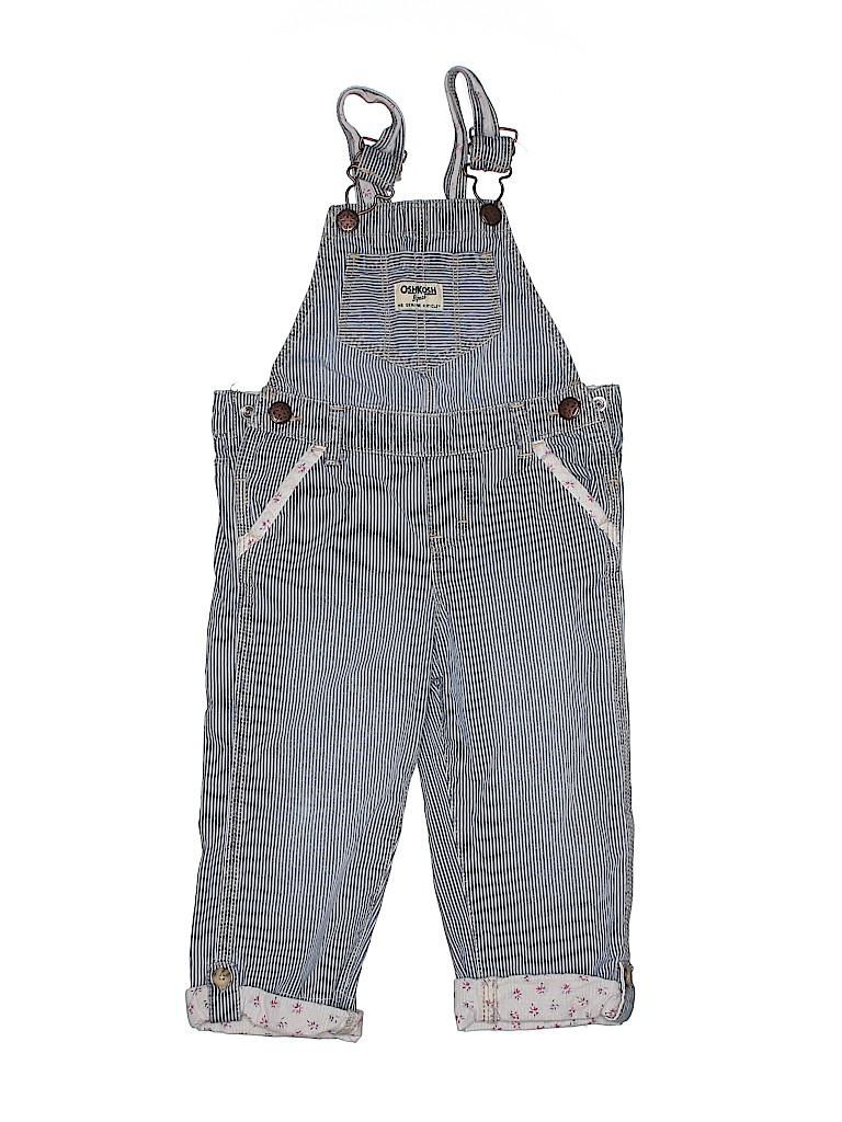 OshKosh B'gosh Boys Overalls Size 2T