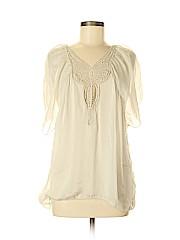 Carla Conti Short Sleeve Silk Top