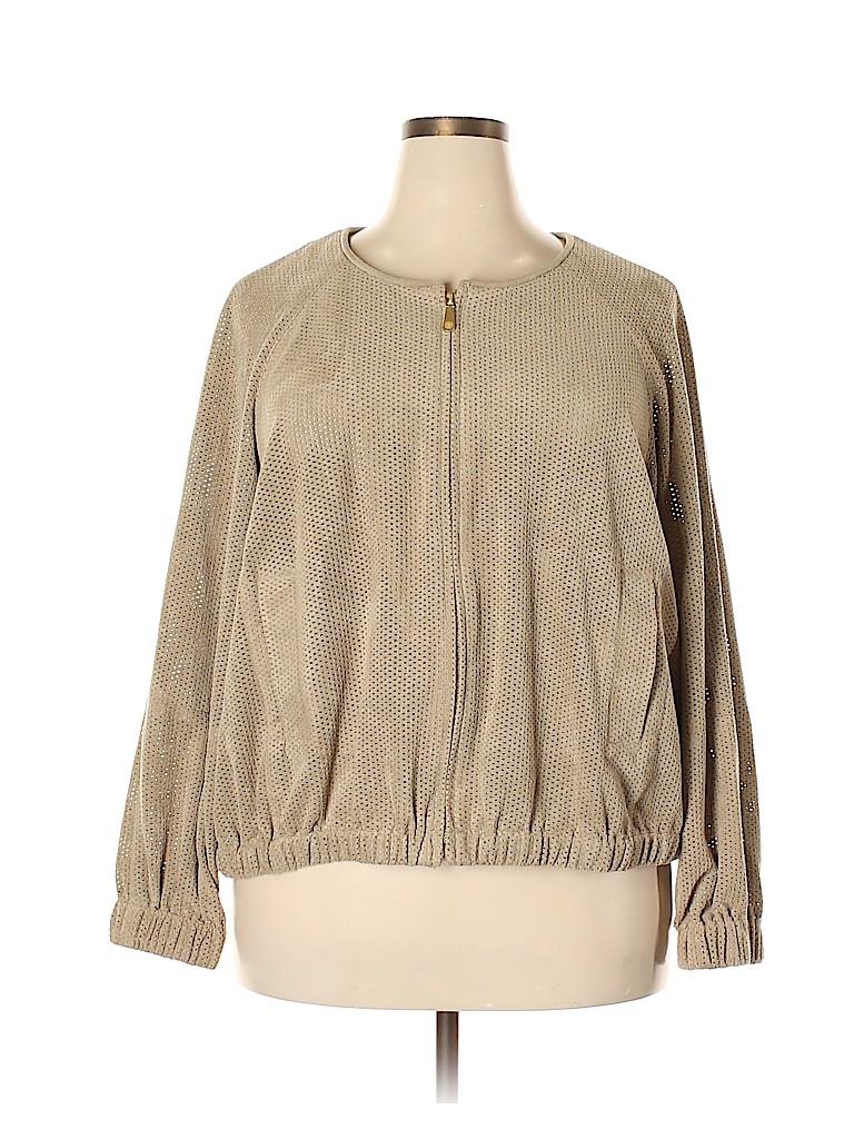 Vince Camuto Women Jacket Size 3X (Plus)