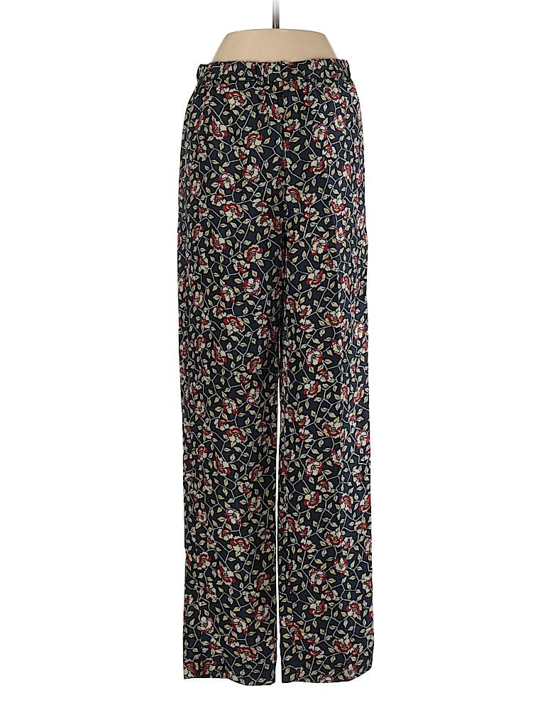 Isabel Marant Women Silk Pants Size 36 (FR)