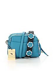 Emma Fox Leather Crossbody Bag