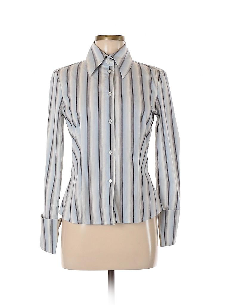 Esprit Women Long Sleeve Button-Down Shirt Size 9