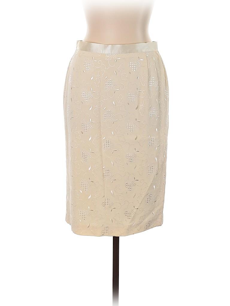 Escada Women Silk Skirt Size 42 (EU)