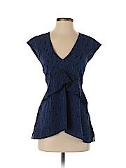 Proenza Schouler Sleeveless Silk Top