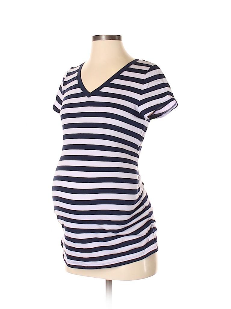 Liz Lange Maternity for Target Women Short Sleeve T-Shirt Size XS (Maternity)
