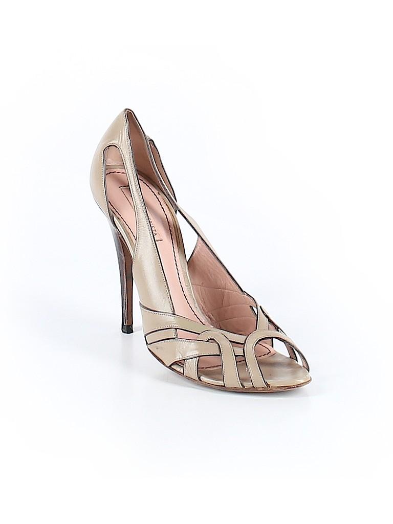 Bottega Veneta Women Heels Size 38.5 (EU)