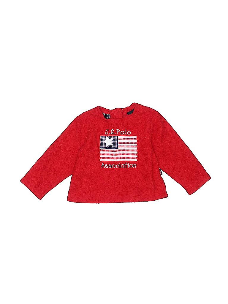 U.S. Polo Assn. Boys Pullover Sweater Size 18 mo