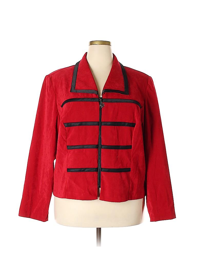 Fashion Bug Women Jacket Size 26 (Plus)