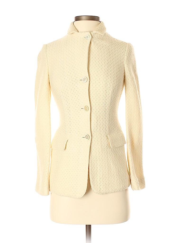 Piazza Sempione Women Wool Blazer Size 40 (IT)