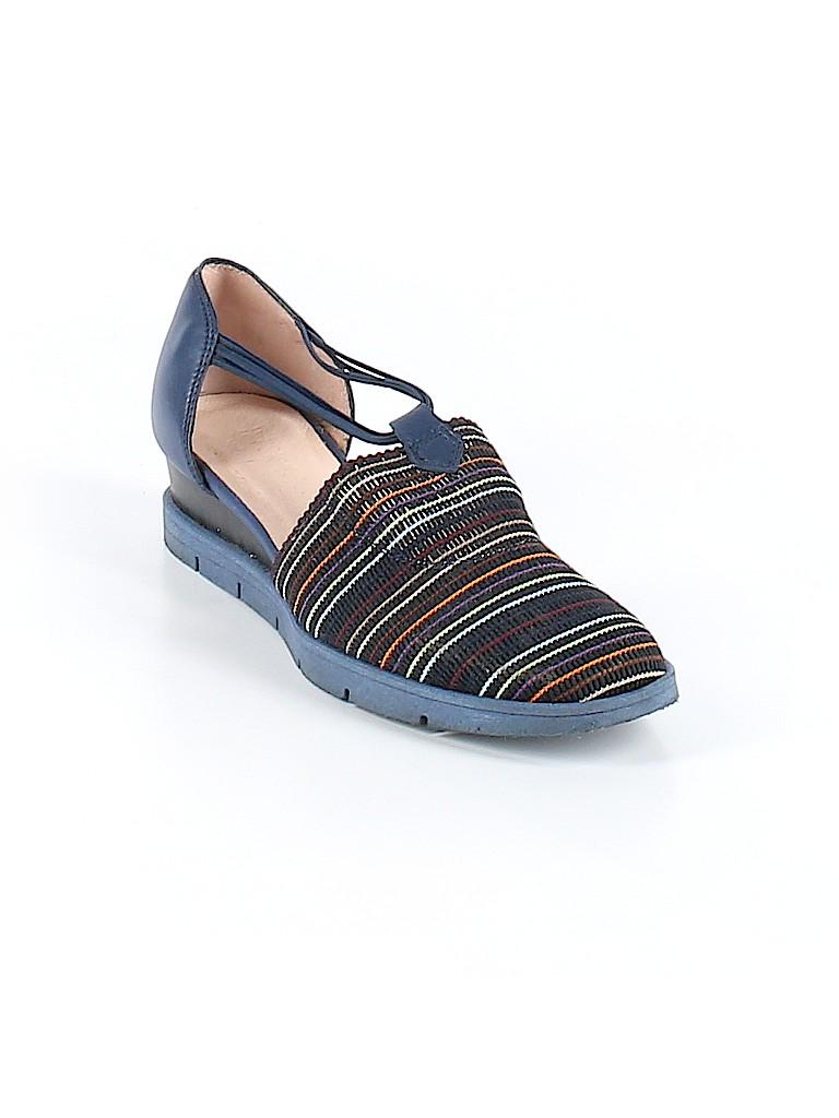 9e4cfde67a5 Hispanitas Stripes Navy Blue Wedges Size 37 (EU) - 58% off