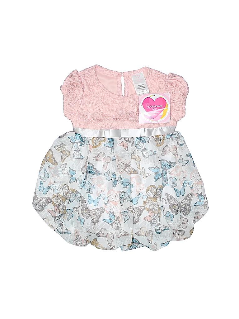 Youngland Baby Girls Dress Size 6-9 mo
