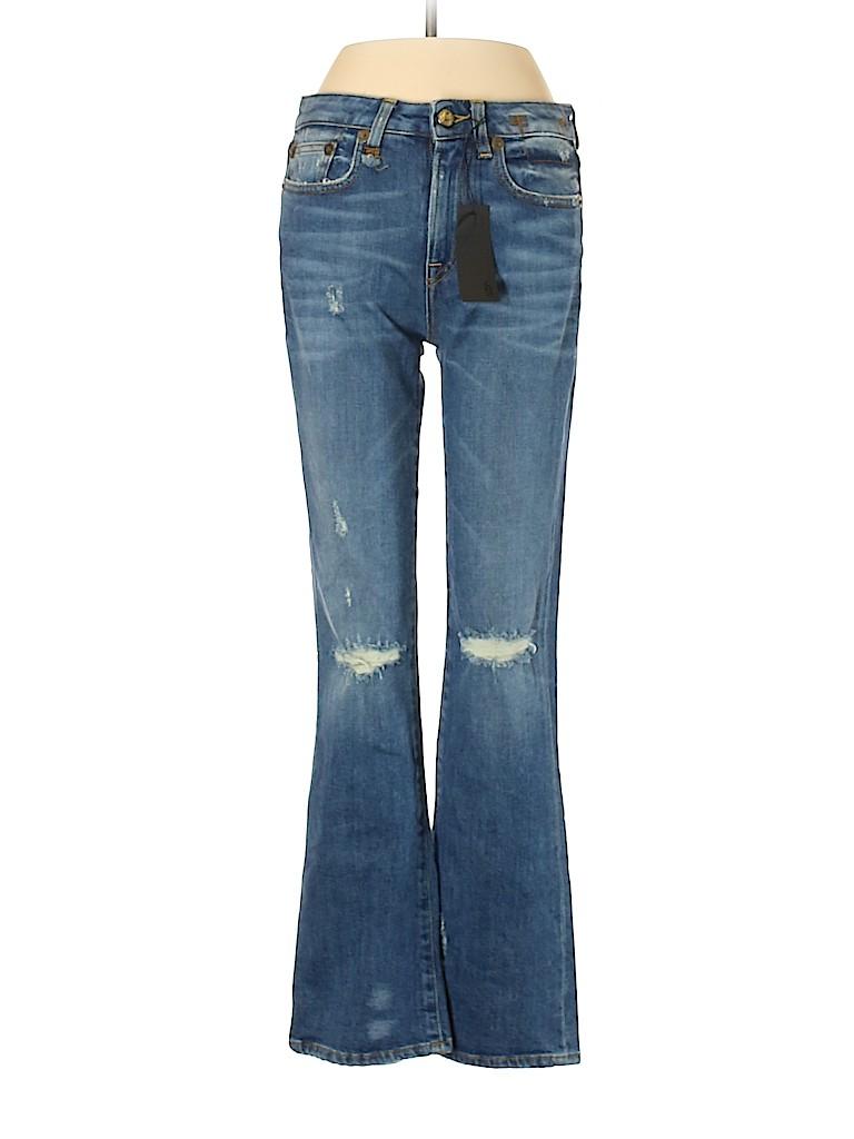 R13 Women Jeans 25 Waist