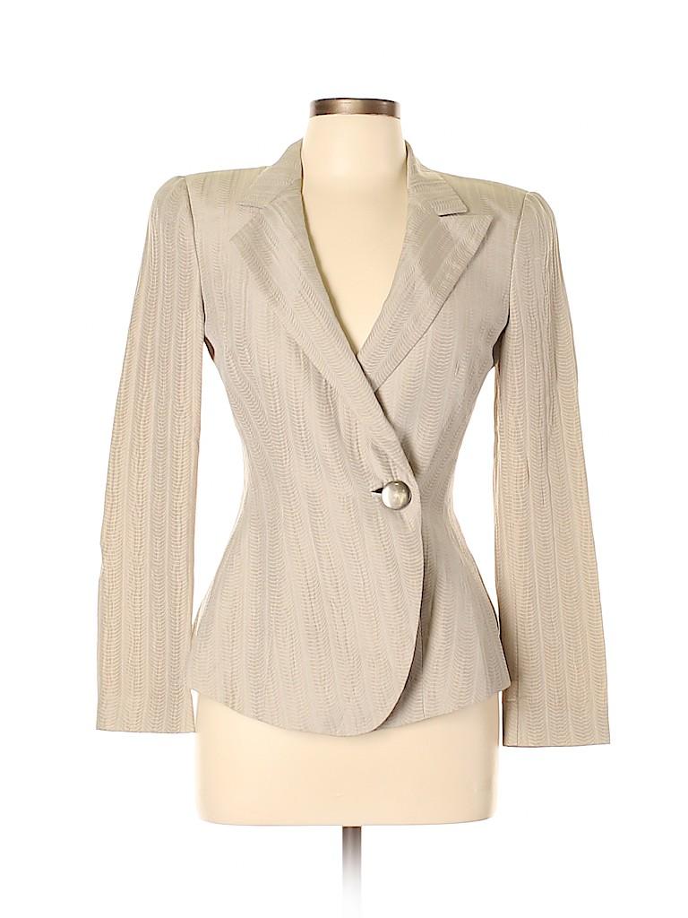 Giorgio Armani Women Silk Blazer Size 38 (IT)