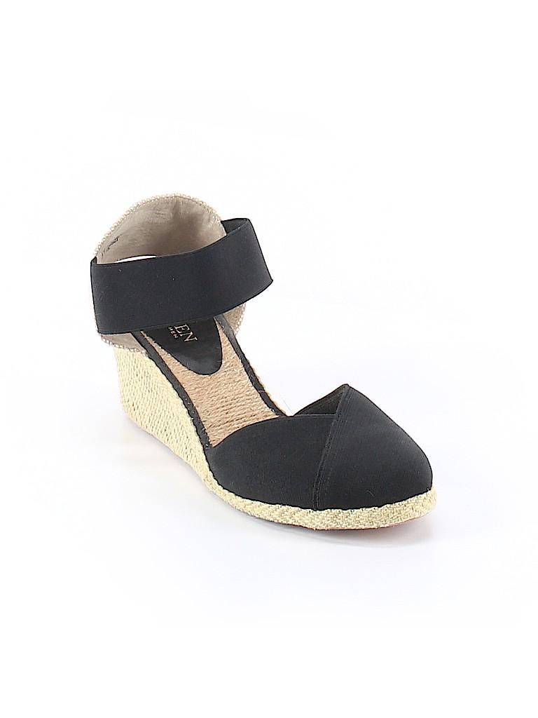 5929d8fee754 Lauren by Ralph Lauren Solid Black Wedges Size 9 1 2 - 58% off