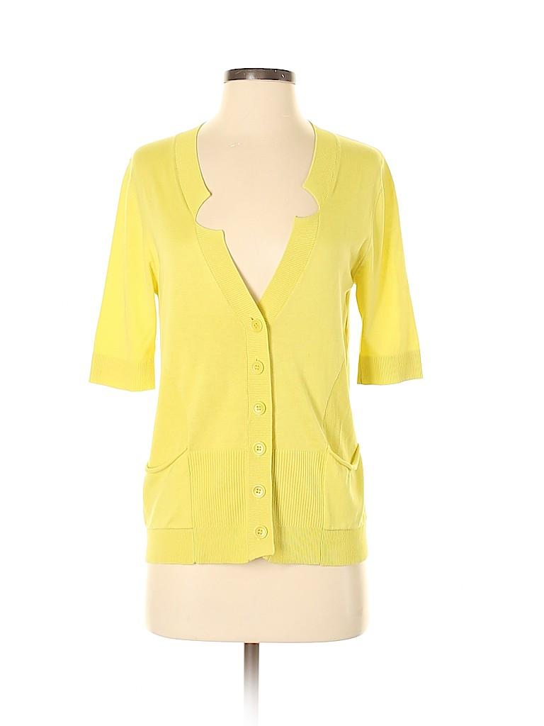 BCBGMAXAZRIA Women Silk Cardigan Size S