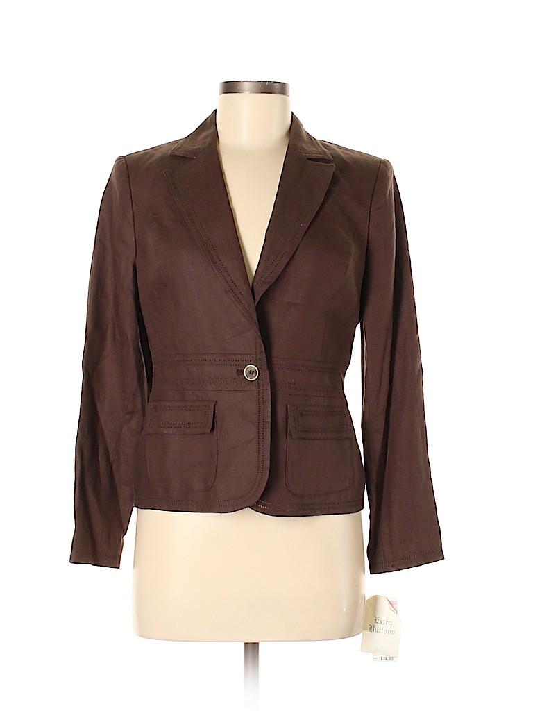 Style&Co Women Blazer Size 6 (Petite)