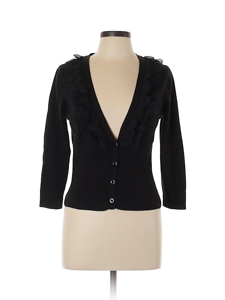 Nine West Women Cardigan Size L