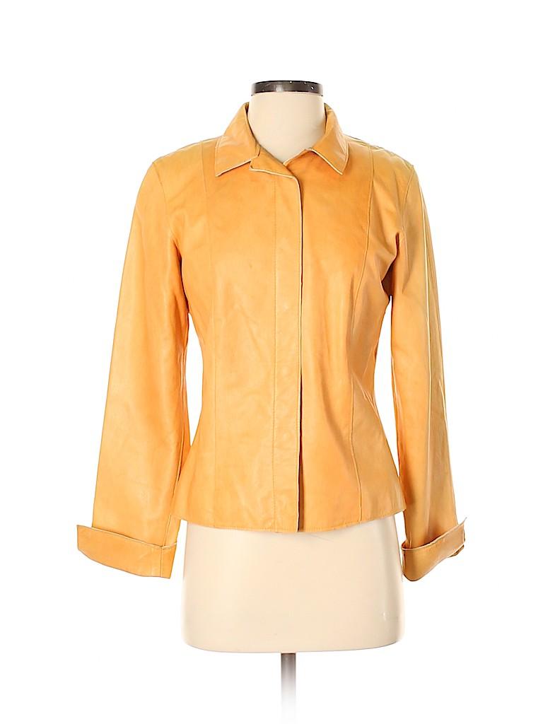 Neto Women Leather Jacket Size 4