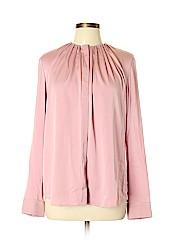 BOSS by HUGO BOSS Long Sleeve Silk Top