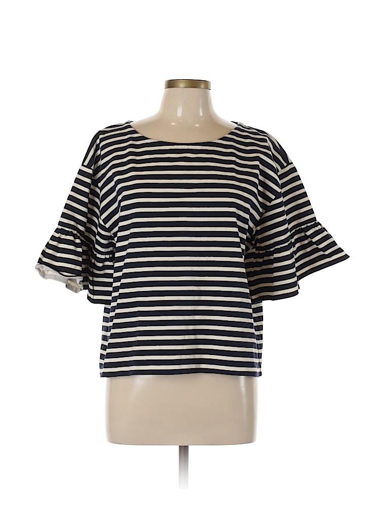 J. Crew Women Short Sleeve Blouse Size XL