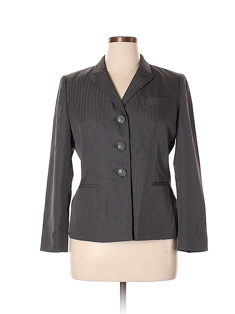 Evan Picone Women Blazer Size 14 (Petite)