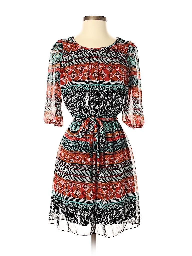 Enfocus Women Casual Dress Size 4 (Petite)